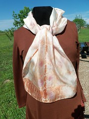Etsy006 (2) (theresaknits) Tags: silk printing scarves dyeing eco