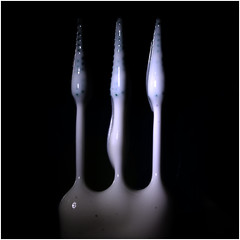 toothopicks and yoghurt_001 (cees van gastel) Tags: macro toothpicks yoghurt tandenstokers extensionrings canon1855mmkitlens ceesvangastel canon40d