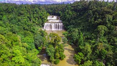 Tinuy-an Falls (briancongson) Tags: falls mindanao drone surigaodelsur tinuyanfalls djiphantom3standard