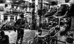 Street Reflection (Ivon Murugesan) Tags: travel people urban blackandwhite black streets reflection reflections blackwhite streetphotography places urbanexploration pondicherry streetshop peoplephotography letsexplore pondicherrytourism pondicherrystreets pondicherrypeople