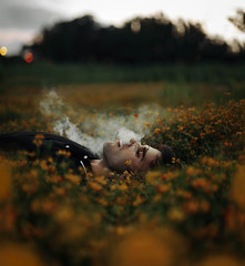 We've come a long way to get here (Sergio Heads) Tags: flowers sunset steam canon6d sergioheads