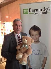 Supporting Barnardo's Scotland