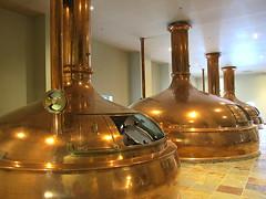 Copper kettles (LotusMoon Photography) Tags: beer wisconsin brewing brewery copper kettles newglarus