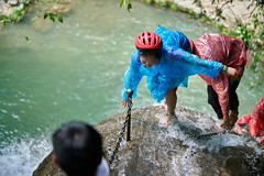 Waterfall, Lijian Gudong Scenic Area (Lengs83) Tags: water waterfall hiking climbing exciting
