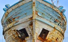 Boats 5 (orientalizing) Tags: desktop wow boats coast rust mediterranean decay cyprus peelingpaint fishingboats drydock polis akamas featured akamaspeninsula northerncoast kaïki καΐκι