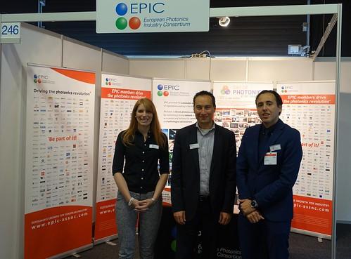 EPIC Staff at Photonics Event