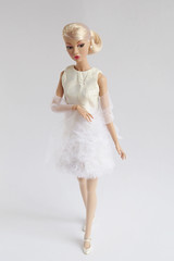 Special bride (*SquishTish*) Tags: wedding fashion bride outfit 60s doll handmade ivory style clothes bridal tule babyitsyou poppyparker squishtish