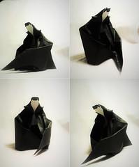 Dracula by Alejandro Pascual Mrquez (Nikita Vasiliev) Tags: origami christopher dracula lee
