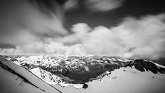 kitzsteinhorn I (>>nicole>>) Tags: longexposure mountains alps monochrome austria sterreich glacier berge monochrom alpen gletscher langzeitbelichtung kaprun kitzsteinhorn ndfilter