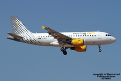 EC-MKX LMML 20-06-2016 (Burmarrad) Tags: cn aircraft airline airbus airlines registration vueling a319111 3054 lmml 20062016 ecmkx