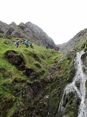 Following the cascades up the Eisc an Chuillinn - DSC06625 (JJC2008) Tags: eisc chuillinn reeks kerry bishopstown bhc gully