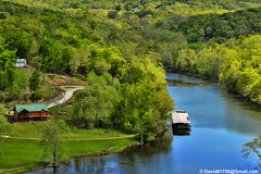 Lake Taneycomo (David Davila Photography) Tags: vacation tree water outdoor mo missouri branson geotag 2016 laketaneycomo nikond800 holuxm241 ozarkbeach