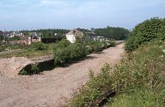 Doune Stn remains . Jun'83. (David Christie 14) Tags: doune oldstation