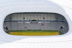 Mnchen Allianz Arena (Luftknipser) Tags: by germany landscape bayern deutschland bavaria outdoor aerial landschaft deu oberpfalz luftbild luftaufnahme vonoben airpicture landsart fotohttprenemuehlmeierde mailrebaergmxde