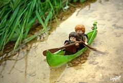 100% Organic Boat (legojeff) Tags: pod lego lotr minifig pea tolkien lordofthering