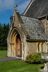 Holy Trinity Botley and Lyne E6240414_04 (tony.rummery) Tags: england building church religious worship unitedkingdom faith olympus christian gathering gb congregation lyne omd em10 mft microfourthirds
