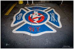 GhostBuster (Moyse911) Tags: park new york city urban rescue usa newyork building love film station rock brooklyn jaune square liberty fire amazing fuji state time top manhattan taxi great central grand libert empire flatiron ville unis ghostbuster amricain xe1 amerique tats xt1 dowtone mildeltown