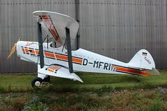 D-MFRI Platzer Kiebitz II (R.K.C. Photography) Tags: uk england germany unitedkingdom aircraft german ultralight cambridgeshire biplane airfield fowlmere canoneos100d dmfri platzerkiebitzii
