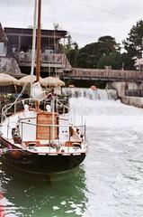 (inaminorchord) Tags: bridge summer film water vertical sailboat analog marina 35mm harbor boat waterfall spring dock sailing dam 35mmfilm manual fishtown leelanau filmphotography fullmanual 35mmfilmphotography