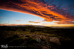 fire in the sky (Aaron_Smith_Wolfe_Photography) Tags: city mountains carson nevada sierra reno