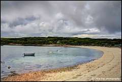 Old Town Bay (chrisfay55) Tags: oldtownbay islesofscilly uk devon england beach harbour boats sand