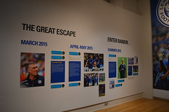 The Great Escape (lcfcian1) Tags: new june museum nikon escape display leicestershire walk leicester great foxes fearless the nikond3200 leicestercity lcfc newwalkmuseum leicestercityfc nigelpearson fearlessfoxes newwalkmuseumfearlessfoxes
