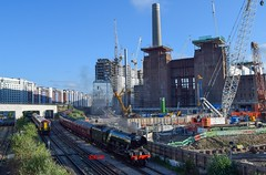 To Steam Or Not To Steam... (KLTP14) Tags: new york london station power victoria steam a3 locomotive battersea batterseapowerstation flyingscotsman 60103 wcrc westcoastrailways stewartslane 1z24