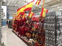 Chino Spain (tonnoro) Tags: spain flag bandera futbol bazar chino eurocopa