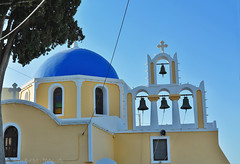 Church in Santorini (Nikos Roditakis) Tags: greek islands nikon aegean churches s nikos santorini 1855mm af nikkor vr d5200 roditakis