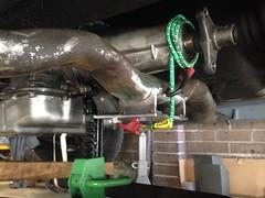 IMG_2820 (john.and.kath) Tags: chevrolet conversion welding engine swap impala ls transmission 1965 fabrication 60l jrd ls2 crossmember l76 4l65e