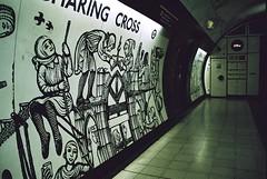 Charing Cross Northern Line (3) (Matthew Huntbach) Tags: londonunderground charingcross northernline kodakultramax400