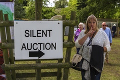 Ssssshh (Kev Gregory (General)) Tags: silent auction wife heather kev gregory abbotts ripton garden party sssshh cambridgeshire canon 7d