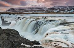 'Kolugljufur' - Hvammstangi, Iceland (Kristofer Williams) Tags: winter snow ice iceland canyon hvammstangi kolugljufur