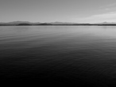 (reidcrosby) Tags: bw lake vermont mount champlain camels vt hump mansfield