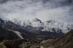 Mountain range (Adept Photography) Tags: nepal stupa monastery nepalese yaks everest himalayas 2016 tengboche stupas