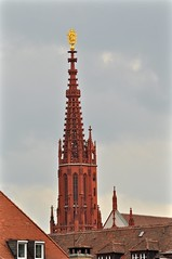 Wrzburg: Marienkapelle Steeple (lazzo51) Tags: germany travels wrzburg marienkapelle