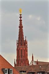 Wrzburg: Marienkapelle Steeple (lazzo51) Tags: germany travels wrzburg marienkapelle