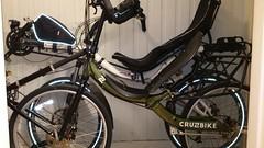 Azub Max and QX100 (gunnsteinlye) Tags: max bicycle norway quest recumbent skien cruzbike azub
