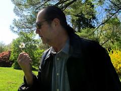 What's He Wishing For? (Aunt Teena) Tags: flowers trees green barry plantingfieldsarboretum wishingflower