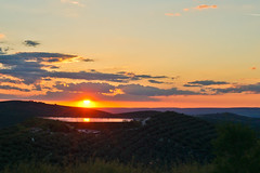 Sunset over Olives (Gretcholi) Tags: spain jaen cazorla 2013
