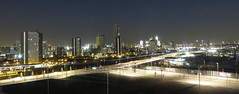 East London by Night