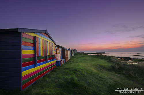 Beach Huts - Hopeman
