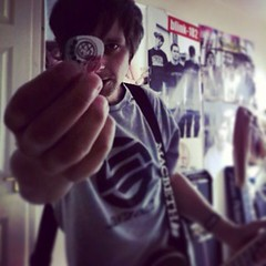 Punk pop (embryonicboy) Tags: music me rock punk guitar blink182 epiphone uploaded:by=flickrmobile flickriosapp:filter=nofilter