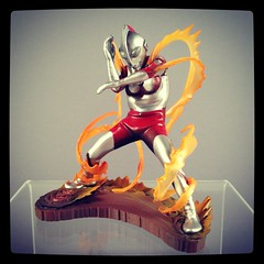 Fire Ultraman (WEBmikey) Tags: japan toys ultraman instagram