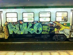 Ruko - North Line (NGC Roma) Tags: birthday park street city travel family blue autumn friends light sunset red sea summer portrait sky people urban italy music food dog house holiday snow streetart black rome color macro art me church nature colors car rock night clouds yard train writing canon painting subway fun graffiti photo spring concert europe paint raw day drawing live tag rail railway wallart can spray crew illegal vandalism traingraffiti trackside iphoneography instagramapp