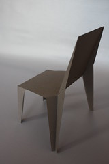 Origami création - Didier Boursin - Chaise