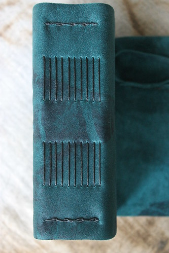 INSPIRE TIE DYE JOURNAL - spine view