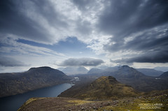 Torridon - Land of the giants (Michael~Ashley) Tags: mountains clouds scotland highlands skies scottish an hills eoin loch maree munros torridon gairloch beinn baosbheinn