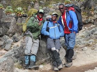 Dennis' Kilimanjaro guides