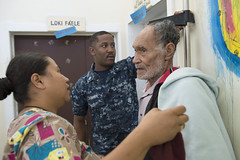130614-N-SP369-224 (SurfaceWarriors) Tags: community medical health usnavy height tonga multinational vitals pacificpartnership